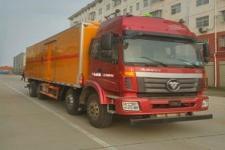 国五欧曼前四后八易燃液体厢式运输车