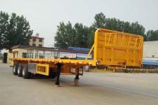 鲁际通12米34吨3轴平板运输半挂车(LSJ9400TPB)