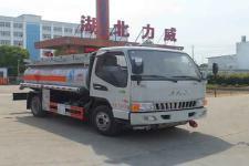 国五江淮5吨加油车价格