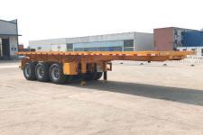 豫前通8.5米33.2吨3轴平板自卸半挂车(HQJ9403ZZXP)
