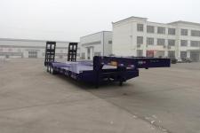 建宇13米29.5吨3轴低平板半挂车(YFZ9370TDP)