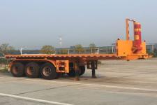 通勤8米33.4吨3平板自卸半挂车