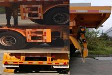 通勤牌TDG9400ZZXP型平板自卸半挂车图片