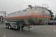 通华11.9米33.6吨3轴铝合金运油半挂车(THT9400GYYHA)