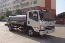 国五解放5吨洒水车