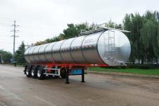 青特11.2米32.4吨3轴鲜奶运输半挂车(QDT9403GNY)