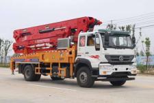 国五重汽水泥输送泵车