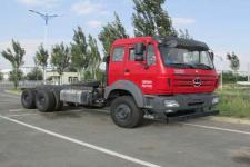 铁马国五后双桥,后八轮货车底盘350马力0吨(XC1250B385)