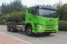 解放牌CA3250P25K15L3T1BE5A80型平头柴油自卸汽车底盘图片