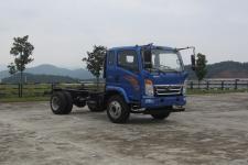 豪曼国五单桥货车底盘129马力0吨(ZZ1048F17EB2)