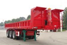 中鱼骏达10米31.5吨3轴自卸半挂车(YJD9400ZHX)