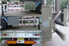 明航牌ZPS9401GYYE型铝合金运油半挂车图片