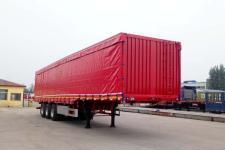 郓腾12.5米31.5吨3轴厢式运输半挂车(HJM9400XXY)