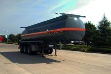 骏通10.4米31.5吨3轴腐蚀性物品罐式运输半挂车(JF9406GFW)