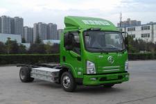 陕汽国五单桥纯电动货车底盘61马力0吨(SX1041EV331L)