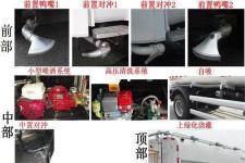 中联牌ZBX5163GQXDFE5型清洗车图片