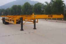 中集12.2米30.5吨2轴集装箱运输半挂车(ZJV9350TJZ00)