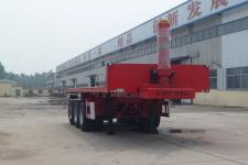 华盛顺翔8米31.5吨3轴平板自卸半挂车(LHS9400ZZXP)