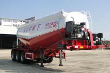 东润9.1米31.6吨3轴下灰半挂车(WSH9402GXH)