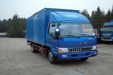 江淮骏铃国五单桥厢式运输车120-156马力5吨以下(HFC5043XXYP91K1C2V)
