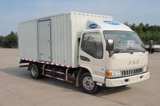江淮骏铃国五单桥厢式运输车88-120马力5吨以下(HFC5040XXYP93K1B4V)