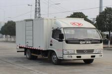 东风凯普特国五单桥厢式运输车87-131马力5吨以下(EQ5041XXY3BDFAC)