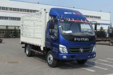 福田奥铃国五单桥仓栅式运输车110马力5吨以下(BJ5049CCY-C1)