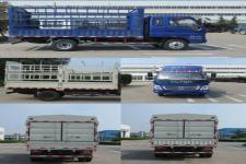 福田牌BJ5049CCY-C1型仓栅式运输车图片