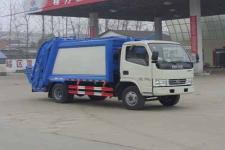 东风多利卡国五6方压缩式垃圾车厂家直销