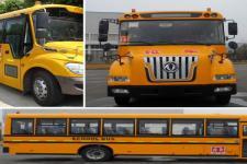 东风牌DFH6100B型中小学生专用校车图片3