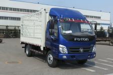 福田奥铃国五单桥仓栅式运输车116-143马力5吨以下(BJ5049CCY-B1)