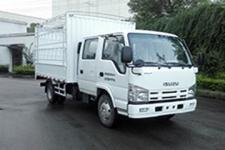庆铃国五单桥仓栅式运输车98马力5吨以下(QL5040CCYA6HW)