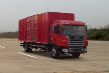 江淮格尔发国五单桥厢式运输车180马力5-10吨(HFC5161XXYP3K2A57S2V)