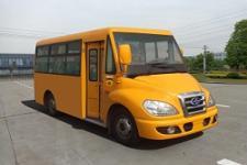 华新牌HM6550CFD5J型城市客车