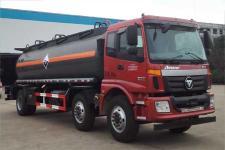 大力牌DLQ5250GFWB5型腐蚀性物品罐式运输车