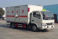 东风国五4米2腐蚀性物品厢式运输车
