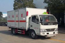 东风国五4米2杂项危险物品厢式运输车