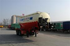 华宇达6.9米28.2吨2轴干拌砂浆运输半挂车(LHY9350GSJ26)