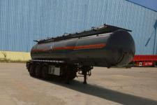 楚飞10.1米32.4吨3轴腐蚀性物品罐式运输半挂车(CLQ9401GFWD)