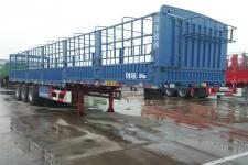 骏通12.5米31吨3轴仓栅式运输半挂车(JF9370CCYEK)