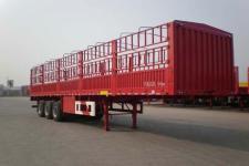 骏通13米33.4吨3轴仓栅式运输半挂车(JF9404CCYZ)