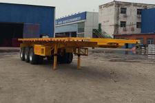 豫前通11米32.9吨3轴平板自卸半挂车(HQJ9403ZZXPC)