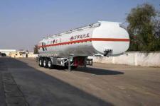 万事达11.2米34吨3轴铝合金易燃液体罐式运输半挂车(SDW9404GRY)