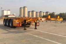 昌骅9.5米35吨3轴危险品罐箱骨架运输半挂车(HCH9406TWY30)