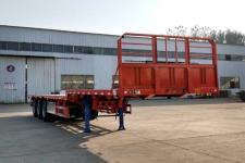 鲁际通牌LSJ9400TPBE型平板运输半挂车(鹅颈式/高低板)
