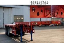 鲁际通牌LSJ9400TPBE型平板运输半挂车图片