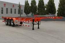 锣响14米35.3吨3轴集装箱运输半挂车(LXC9402TJZDE)