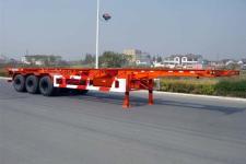 通华牌THT9370TJZ型集装箱运输半挂车图片