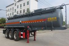 特运10米33.5吨3轴腐蚀性物品罐式运输半挂车(DTA9400GFW)
