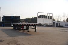 中集12.4米32吨3轴平板半挂车(ZJV9401TPTH)